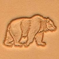 Leatherwork Bear Stamp Craftoon