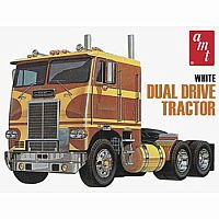 White Freight Liner Model 1/25