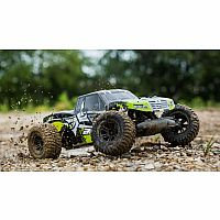 AMP MT 2WD Monster Truck RTR, Black/Green
