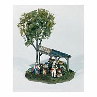 Ernie's Fruit Stand HO Scale