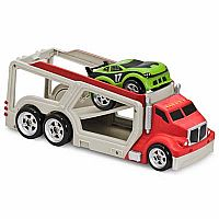 Big Rig Car Carrier w/Soft Pull