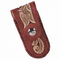 Leatherwork Knife Pouch: Small